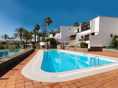 Photo for 2 BEDROOM BUNGALOW BY THE SEA WITH COMMUNAL POOL AND SEAVIEWS IN GRAN CANARIA