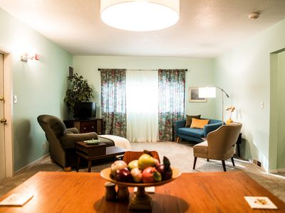 Photo for Bakers Mezzanine is a second floor apartment located in the heart of Newberg, OR