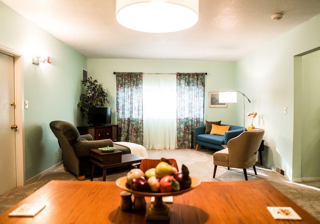 Bakers Mezzanine Is A Second Floor Apartment Located In The Heart Of Newberg Or