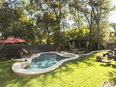 Photo for ♛ WalkerVR BARTON HILLS VILLA #2 *Walk to ACL, Private Pool & Cozy Home*