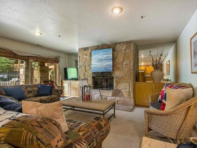 Photo for FREE SKI RENTAL! Walk to Skiing - 150 Yards to Lift & Shuttle! Updated 1st Floor Unit, No Stairs