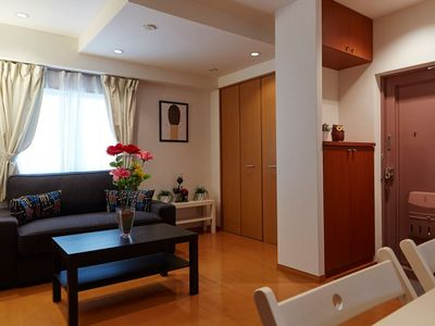 Photo for AKASAKA & ROPPONGI Central Tokyo 2 Bed Rooms w/ Sofa Bed, Washer