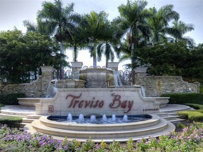 Photo for BEAUTIFULLY DESIGNED 2BR / 2BA Naples Treviso Bay Condo