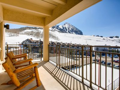 Photo for Recently Remodeled Ski Lodge Styled Plaza Condo