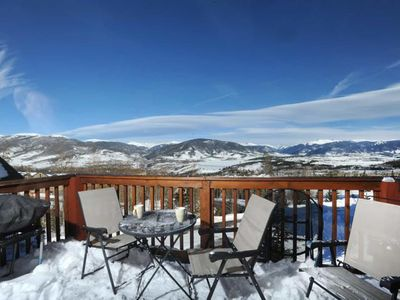 Photo for Amazing Mountain & Lake Views! Perfect Location for Skiing Breckenridge/Keystone. Hot Tubs/Indoor Po