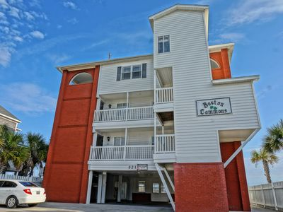 Photo for Oceanfront 3BR/2BA condo small complex with Indoor/Outdoor Heated Swimming Pool!