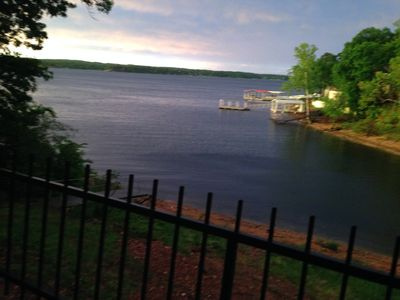 Photo for TiaJuana Cove I on Grand Lake! Newly remodeled lakefront cabin!