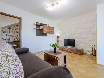 Photo for Lapad great location, fully equipped recently refurbished apartment for 2+2