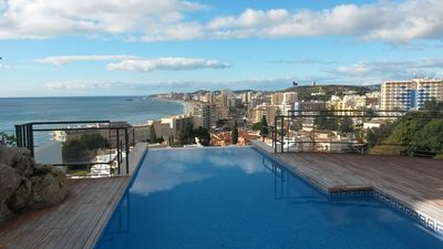 Photo for Modern villa, 5 minutes walking distance to beach and restaurants. Sea view