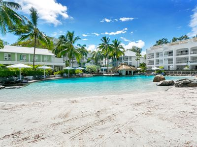 Photo for 2 Bedroom Beach Club Apartment with direct access to the resort's Lagoon