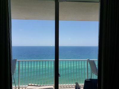 Photo for Beachfront condo on 17th floor at Tidewater Resort