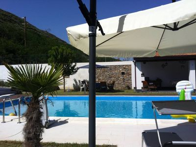 Photo for Beautiful Villa with large private pool 100 meters from the sea in front of the Aeolian Islands