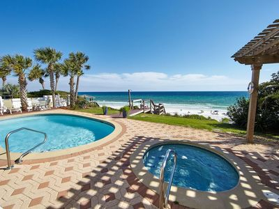 Photo for Seagrove Beach 7 Bedrooms 6.5 Baths, Heated Private Pool, Sleeps 20