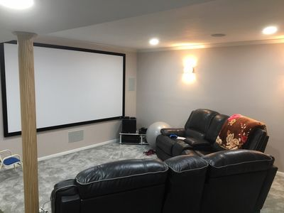 Privacy, entertainment, comfort galore 2 BR LR 1BA Home Theater, Pool Table