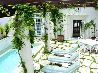Private Loggia and Pool