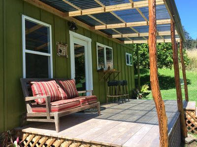 Photo for Kuku's Nest - Your Private Tiki Hut Tiny House Near South Point