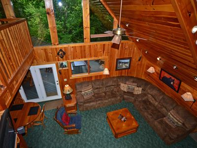 Photo for 5 Bedroom / 4.5 Baths, Pool Table, Hot Tub, Wooded Privacy, Adjacent to Pools