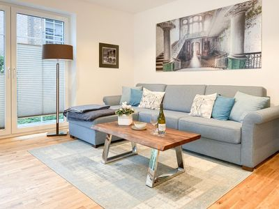 Photo for Exclusive apartment with a large sun terrace and 2 separate bedrooms