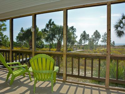 Photo for 3 Bedroom, 2 Bath, Gulf Front, Pet Friendly, Large Screened In Deck!