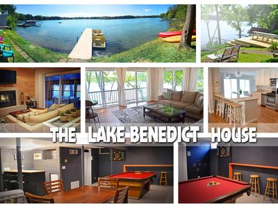 Photo for Lake Home with Tons of Amenities *Updated interior by designer