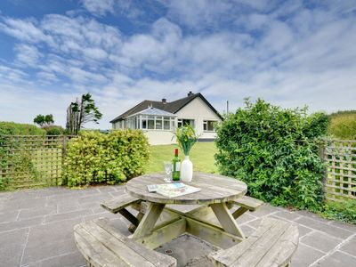 Photo for Spacious, detached holiday home with large garden and uninterrupted sea views