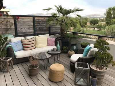 Photo for APARTMENT TERRACE SEASIDE