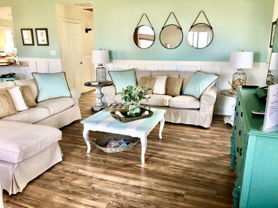Photo for 2020 RENOVATED! GORGEOUS COASTAL CHIC SEMI-OCEAN FRONT~ AMAZING OCEAN VIEWS!