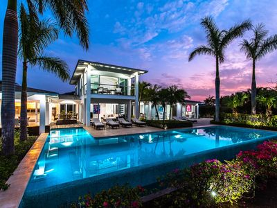 Photo for Private Luxury Villa With Panoramic Views Close To Beaches -