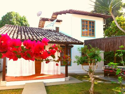 Photo for House with 3 bedrooms, pool and barbecue near the beach