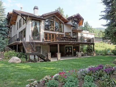 Photo for Large, Luxurious, Creekside Home - Perfect for Entertaining