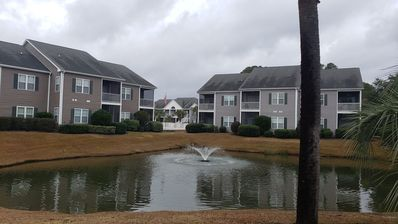Photo for Beautiful Condo about 1 mile from the beach, located on a golf course.