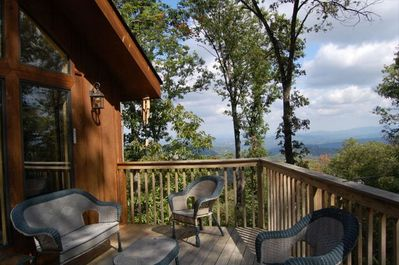 Fantastic Views from the deck
