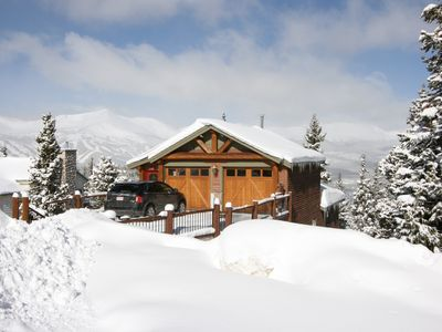 Photo for 5 Bedroom House with Panoramic Views of the Ski Runs