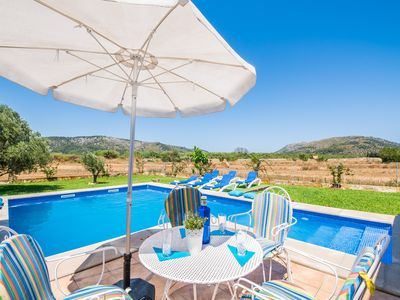 Photo for ☼ Charming finca and pool - oasis of peace