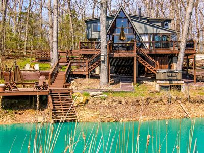 Photo for Innsbrook Chalet w/Lakeside Deck, Fire Pit & Boat!