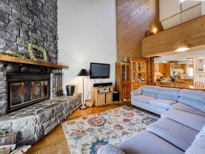 Photo for Lakeview home with a private sauna & wood-burning fireplace - dogs OK!
