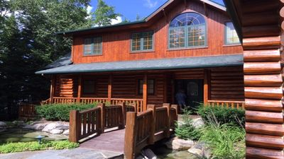 Photo for Magnificent Log Home On Mullett Lake's East Shore ~ Fantastic Views!
