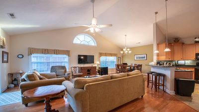 Photo for Beautiful 4-BR, 3-Bath House- minutes to the Beach