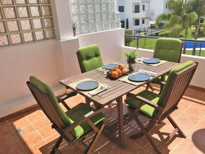 Photo for Comfortable apartment with panoramic sea view, sleeps 6.