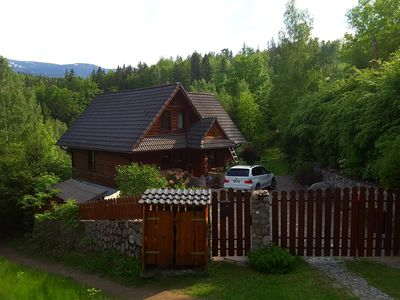 Photo for Beautiful mountain house in the Giant Mountains Poland at the waterfall