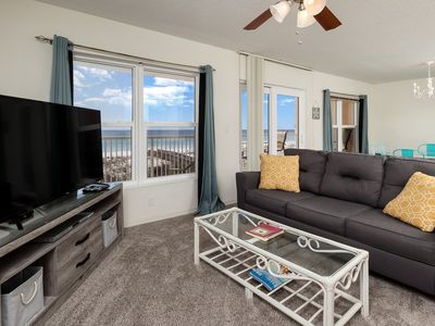 Photo for Beachfront Condo w/ Pool & Elevator, Beach Setup Included, Quick Drive To Dining
