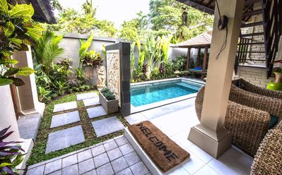 Photo for La Storia D'Amore | heart of Seminyak | Bali | 2 Bedroom | 1 Bathroom