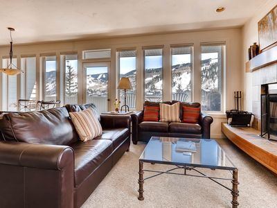 Photo for Deluxe family Condo with Mtn Views, walk to Eagle Bahn Gondola | SunVail 34B