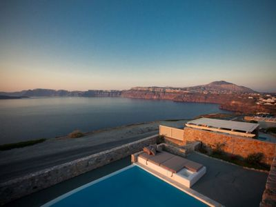 Photo for YOUR PRIVATE HOUSE WITH ULTIMATE LUXURY. 5 BEDROOM VILLA IN MONSOON RESORT SANTORINI