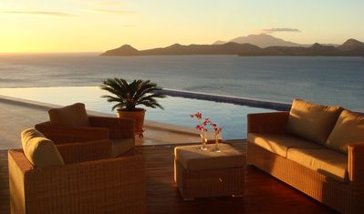 Coccoloba's pool and deck featured in Caribbean Travel & Life