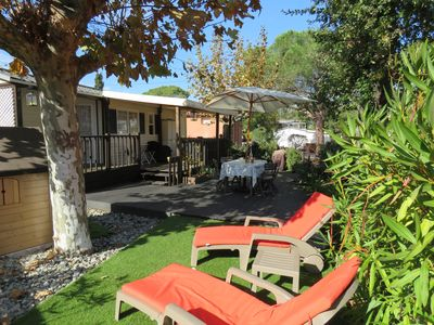 Photo for Superb fully equipped mobile home, Var- seaside, 4 pers, Camping ***