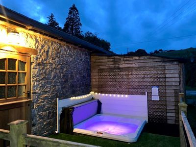 Photo for Cottage + Hot Tub,  outskirts Cardiff/Cowbridge, stunning rural location