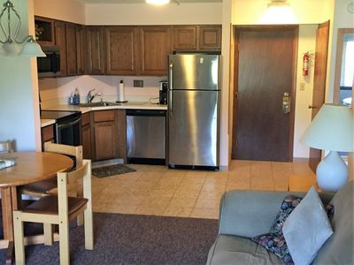 Photo for Mount Snow view, great location, indoor pool, shuttle to mountain