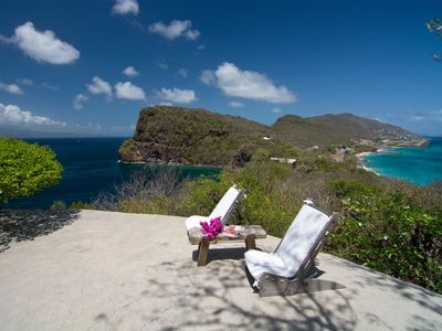 Photo for Moonrise at Moonhole on Bequia