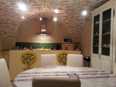 Photo for historic center, renovated house, furnished tourism 4 **** private patio, terrace